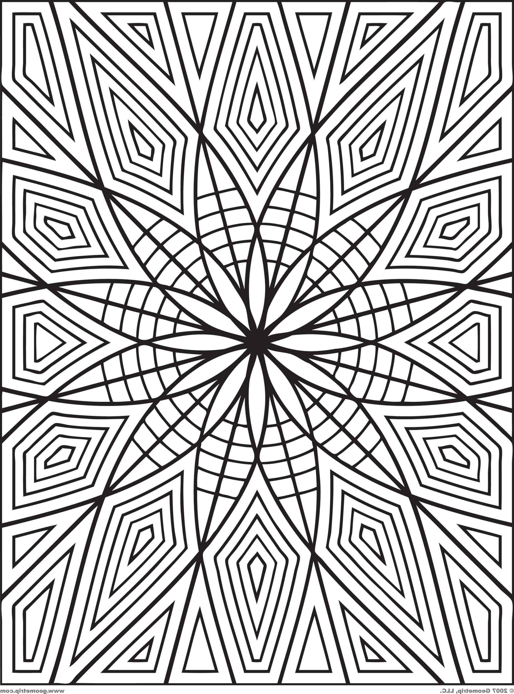Geometric Coloring Pages Pdf Geometric Coloring Pages Pattern Coloring Pages Mandala Coloring Pages