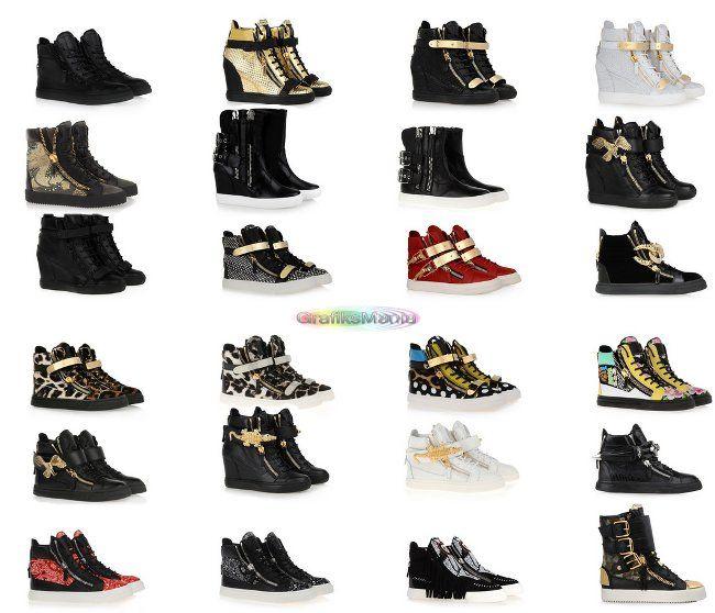 Giuseppe Zanotti scarpe collezione uomo donna catalogo autunno inverno 2014  2015 0563b953d65