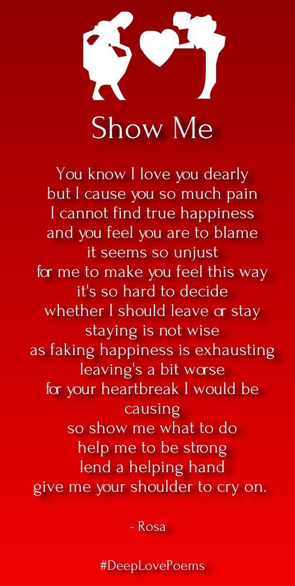 Short Deep Love Poems For Him Love Letters Poems Pinterest