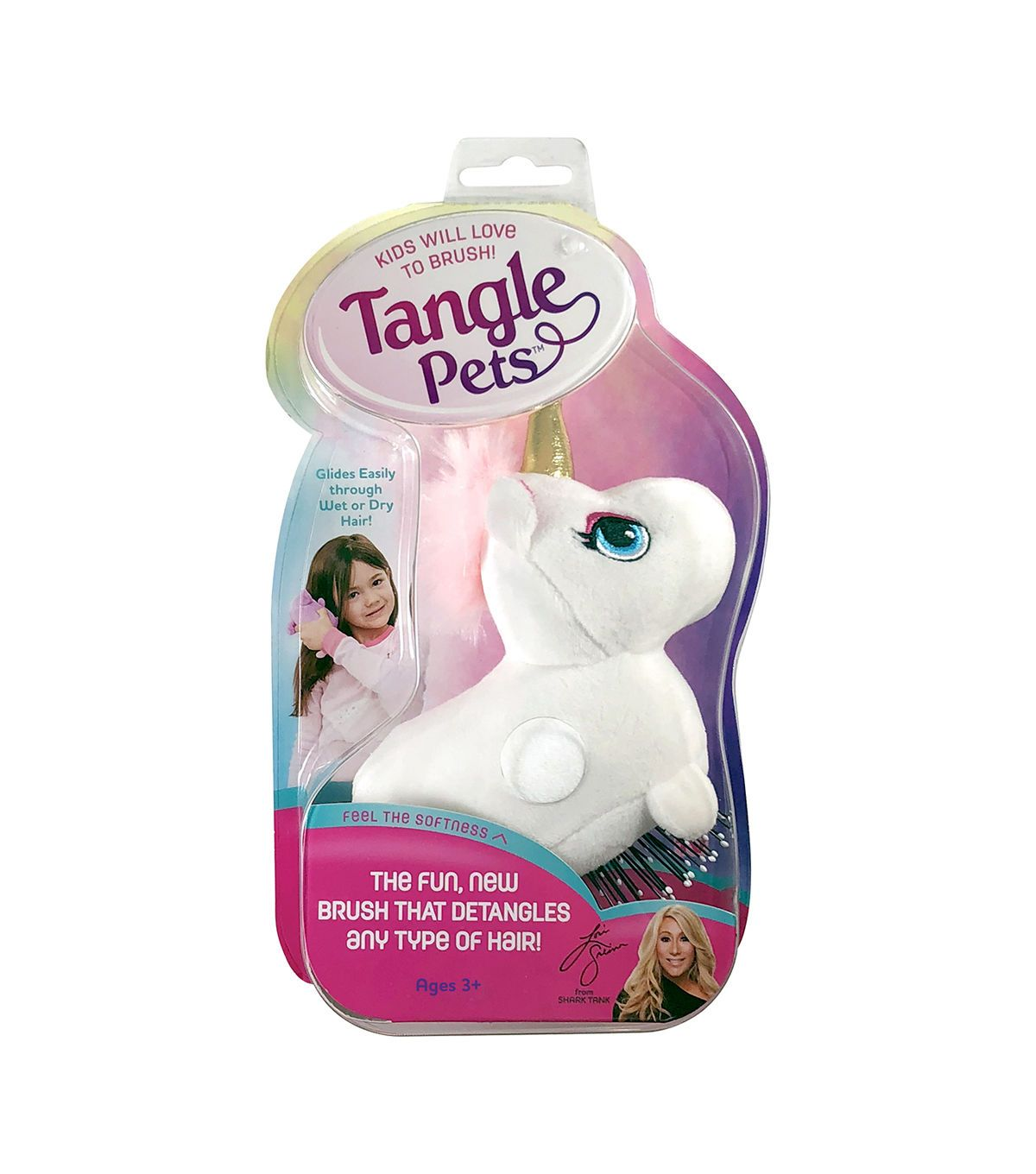 Tangle Pets Sparkles The Unicorn Detangling Brush Hair Brush Unicorn Hair Tangled