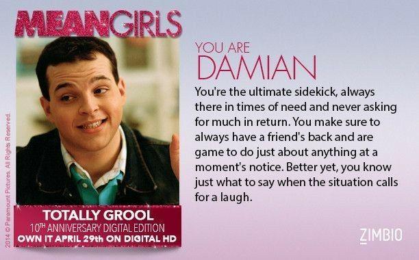 #MeanGirls (2004) - #Damian | Mean girls meme, Mean girls ...