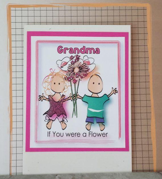 Grandma Birthday Card Cute Birthday Card For Grandmother Cards And