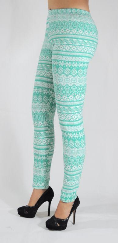Mallones leggins de algodón con diseños tribales Mod.04