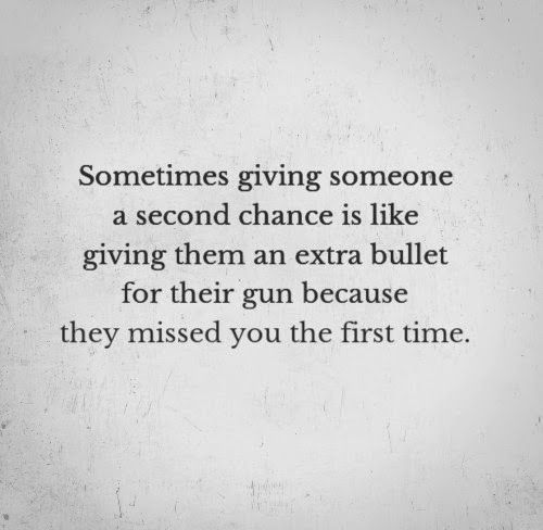 Giving someone a chance quotes