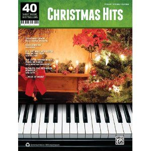 alfred 40 sheet music best sellers christmas hits pvg song book standard - Best Selling Christmas Song