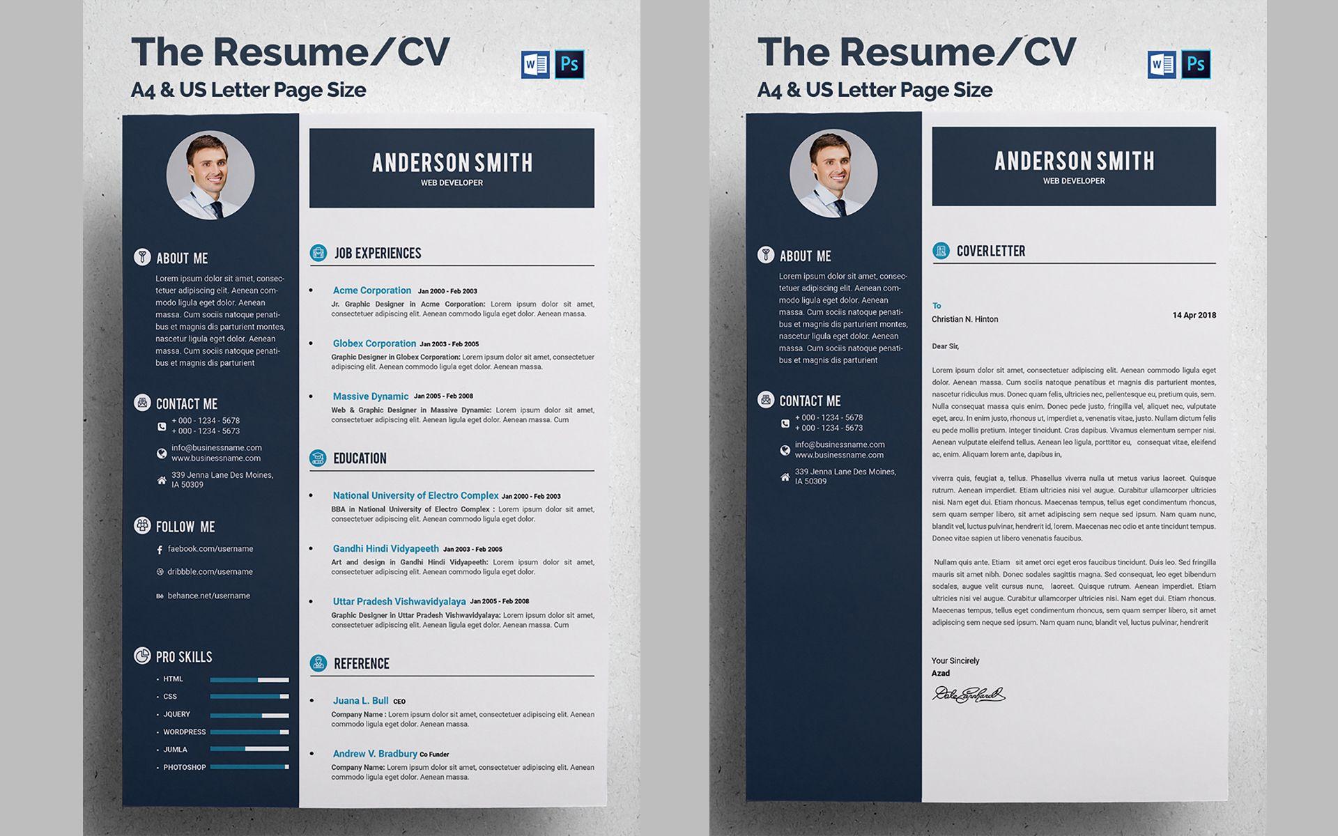 Web Developer Cv Resume Template 68317 Templatemonster Cv Resume Template Resume Template Unique Resume Template