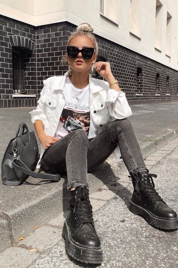 Photo of 25 Charming Outfits With Black Jeans For Inspiration –