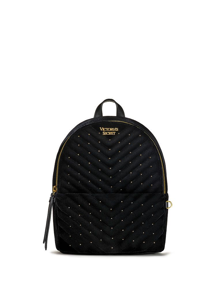 283c786e1 Victoria's Secret Velvet Stud Small City Backpack | Products ...