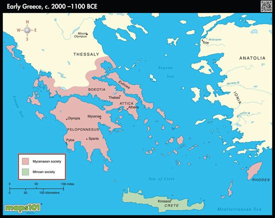 Early ancient greece map by maps from maps worlds early ancient greece map by maps from maps worlds largest gumiabroncs Images