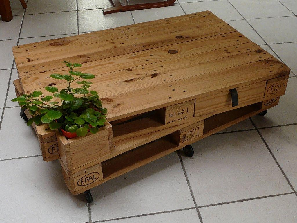cb56a930266c41 Beautiful Acheter Table Basse Palette  10  Fabriquer Une Table Basse Video  ~ Table Basse Palettes Sur Roulettes Par Julpec Sur Lu0027