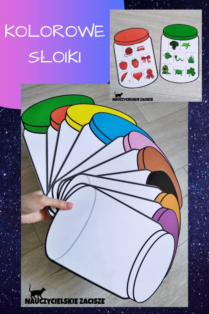 Kolorowe Sloiki Obrazki Pomoce Dydaktyczne Kolory 9784806780 Oficjalne Archiwum Allegro Preschool Color Activities Preschool Colors Preschool Activities