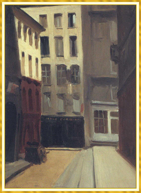 Edward Hopper Paris Street #