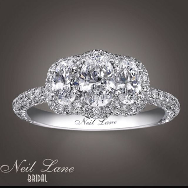 234987c21 I think I need this ring! Neil Lane 3 stone | Baubles & Bling ...