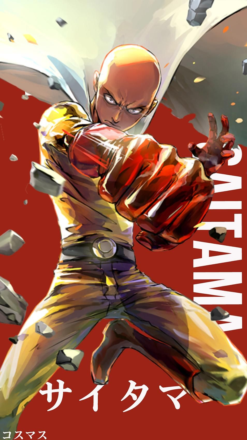 Saitama V2 Korigengi Wallpaper Anime Manga de one