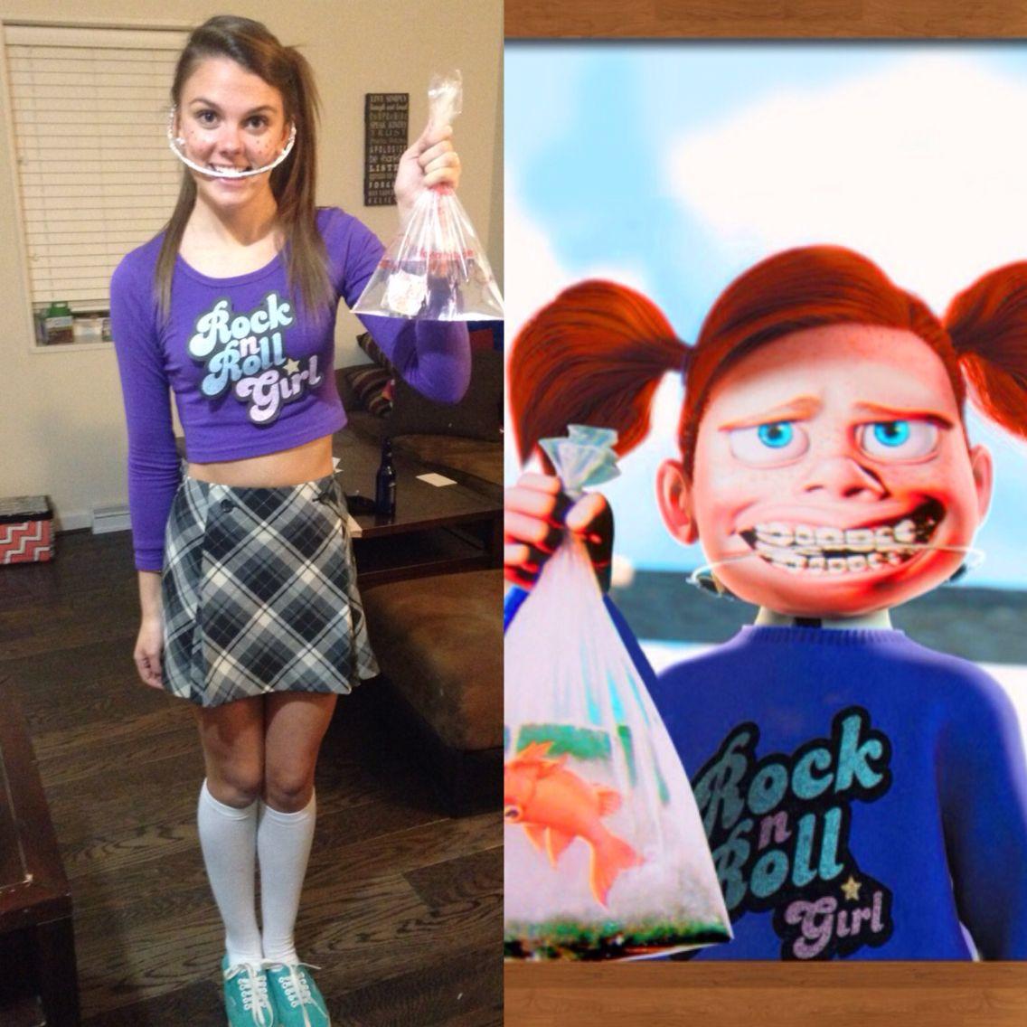 Finding Nemo Halloween Costume, Darla! | Fancy dress | Diy ...
