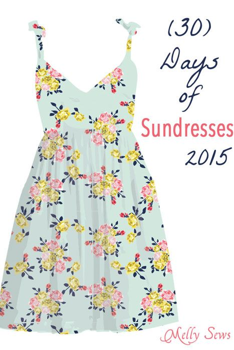 50 Ways to Sew a Sundress | Pinterest | Dress patterns, Tutorials ...