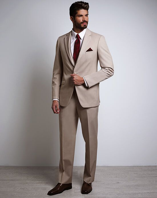 Tan Tux | Xedo Tuxedo Rental Tan fabric was created with a beach ...