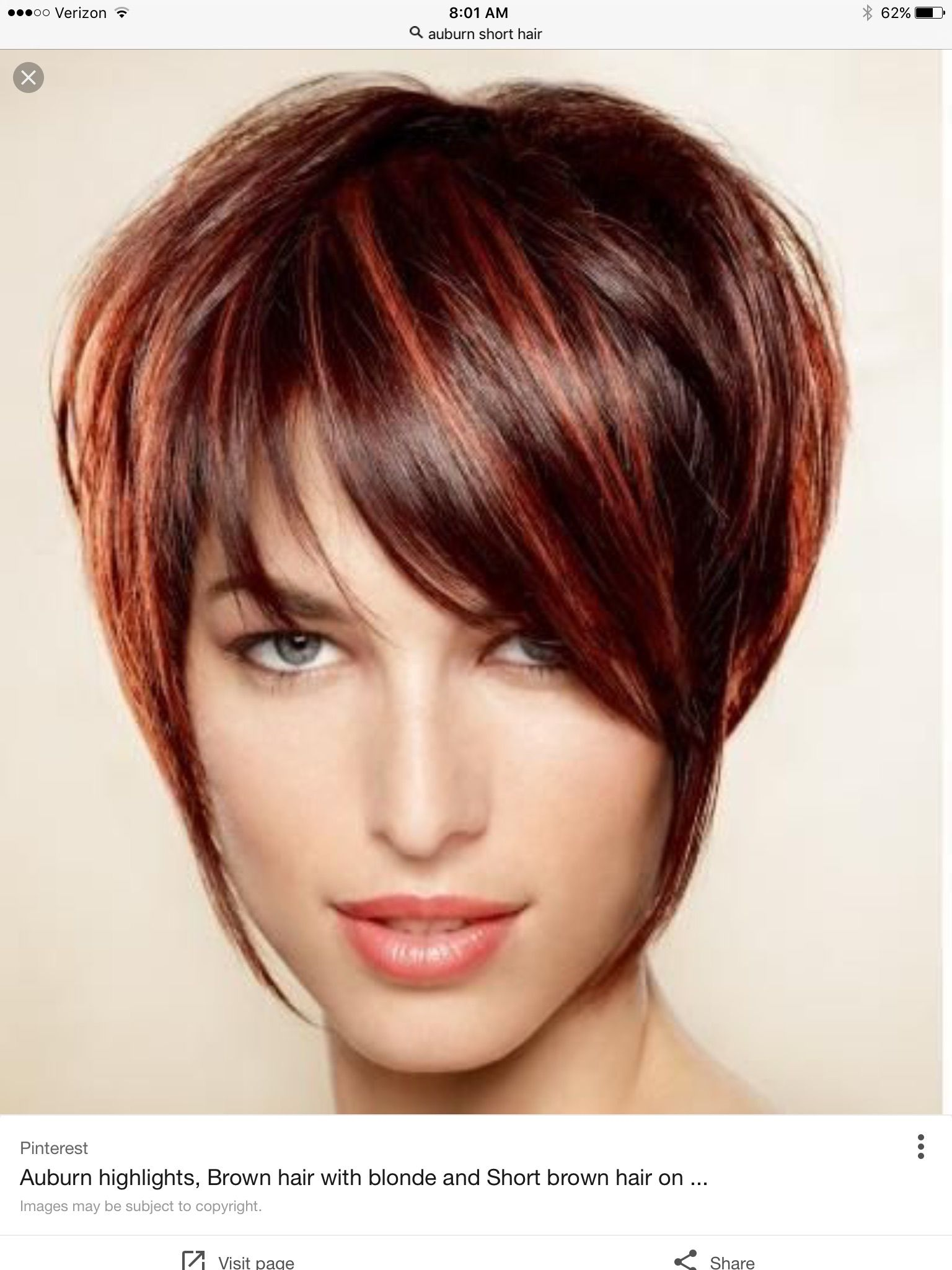 Love the Highlights | Short hair | Pinterest | Haircuts