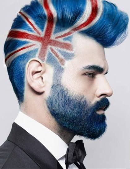 British Hairstyle For Men Mens Haircuts Fade Hair Styles Union Jack