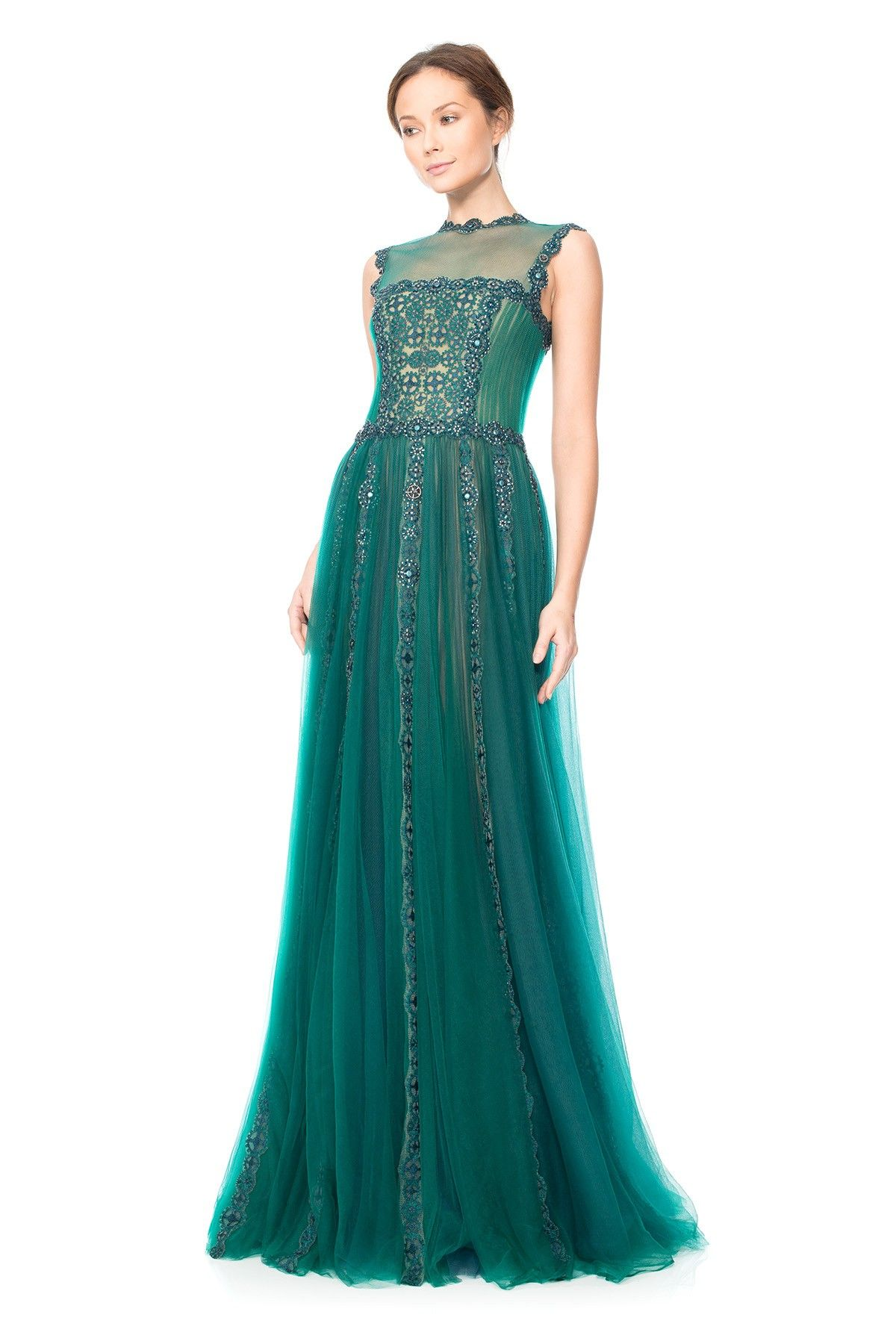 Mynah Gown   Tadashi Shoji   wedding dresses   Pinterest   Tadashi ...
