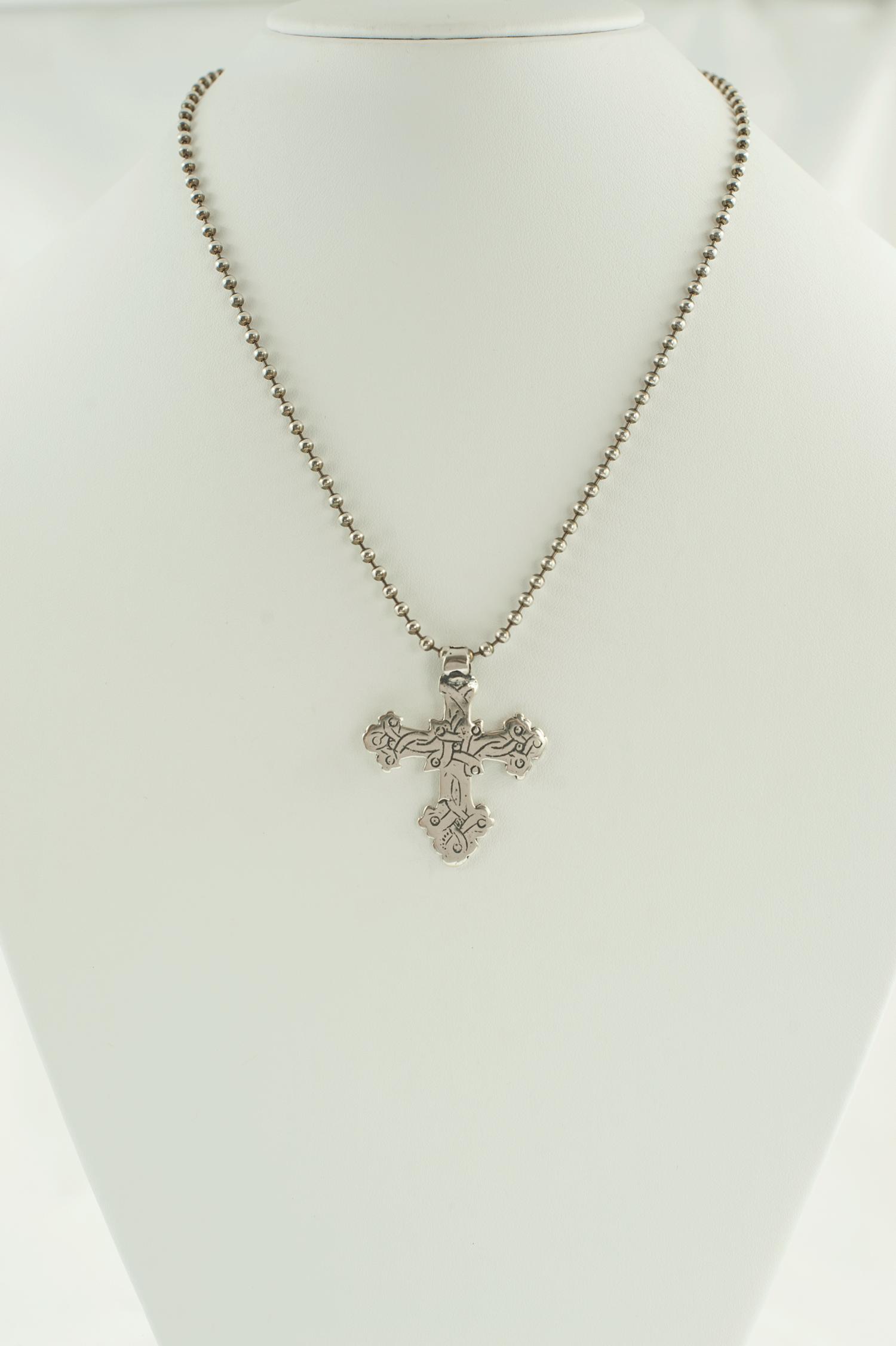 Celtic cross ‐Silver — Linda Dillon