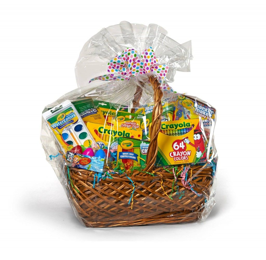 Win a FREE Crayola Easter Basket from Amazon Easter