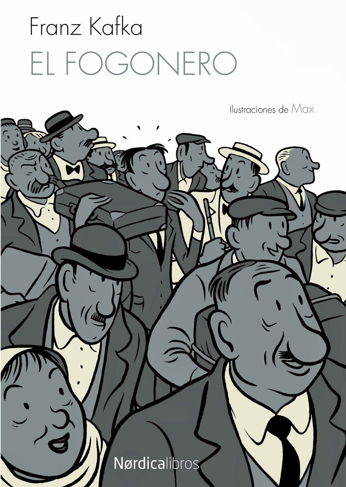 «El fogonero», que ahora edita @Nordica_Libros con dibujos de Max, es un relato de Kafka que luego sirvió al autor como primer capítulo de su inacabada novela «América». Nórdica Libros http://www.veniracuento.com/