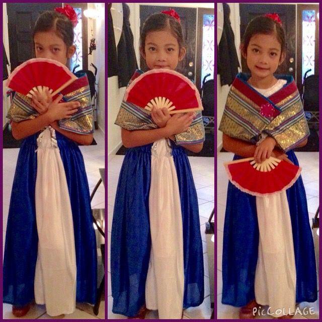 Filipiniana Traditional Outfits Kids Costumes Filipiniana