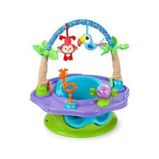 DELUXE 3 IN 1 SUPER SEAT BOOSTER HIGH CHAIR PLAY SUMMER INFANT PIVOTING TOY ARCH