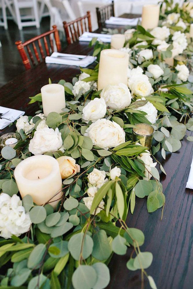 Budget Friendly Wedding Trend Greenery Decor See More Http