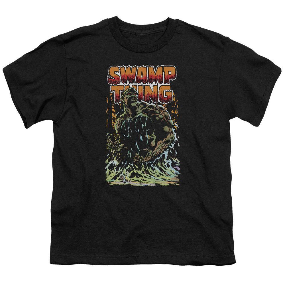 Jla - Swamp Thing Youth T-Shirt