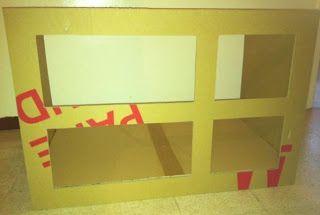 Tuto meuble tv en carton meuble en carton en boitage - Meuble en carton tuto ...