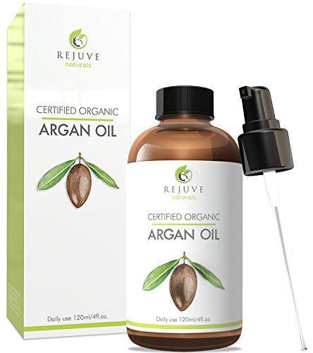Virgin Organic Argan Oil, 100% Pure, Cold Pressed, USDA C…