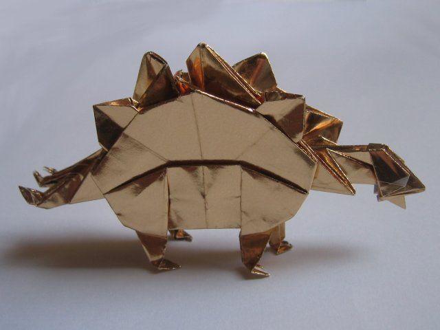 Photo of Stegosaurus (John Montroll)