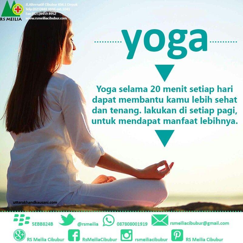 Yoga Meditasi Rsmeilia Dokter Spesialis Sehat Rsmeilia Cibubur Depok Cileungsi Bekasi Bogor Jakarta Meditasi Yoga Dokter
