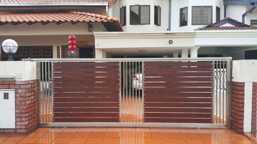 Our Stainless Steel Gate Is Manufactured And Welded By Our Skilled Worker Unlike Wrought Iron