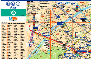 Paris Metro Map Download.Official Paris Metro Subway Maps For Download Printable Pdf Map