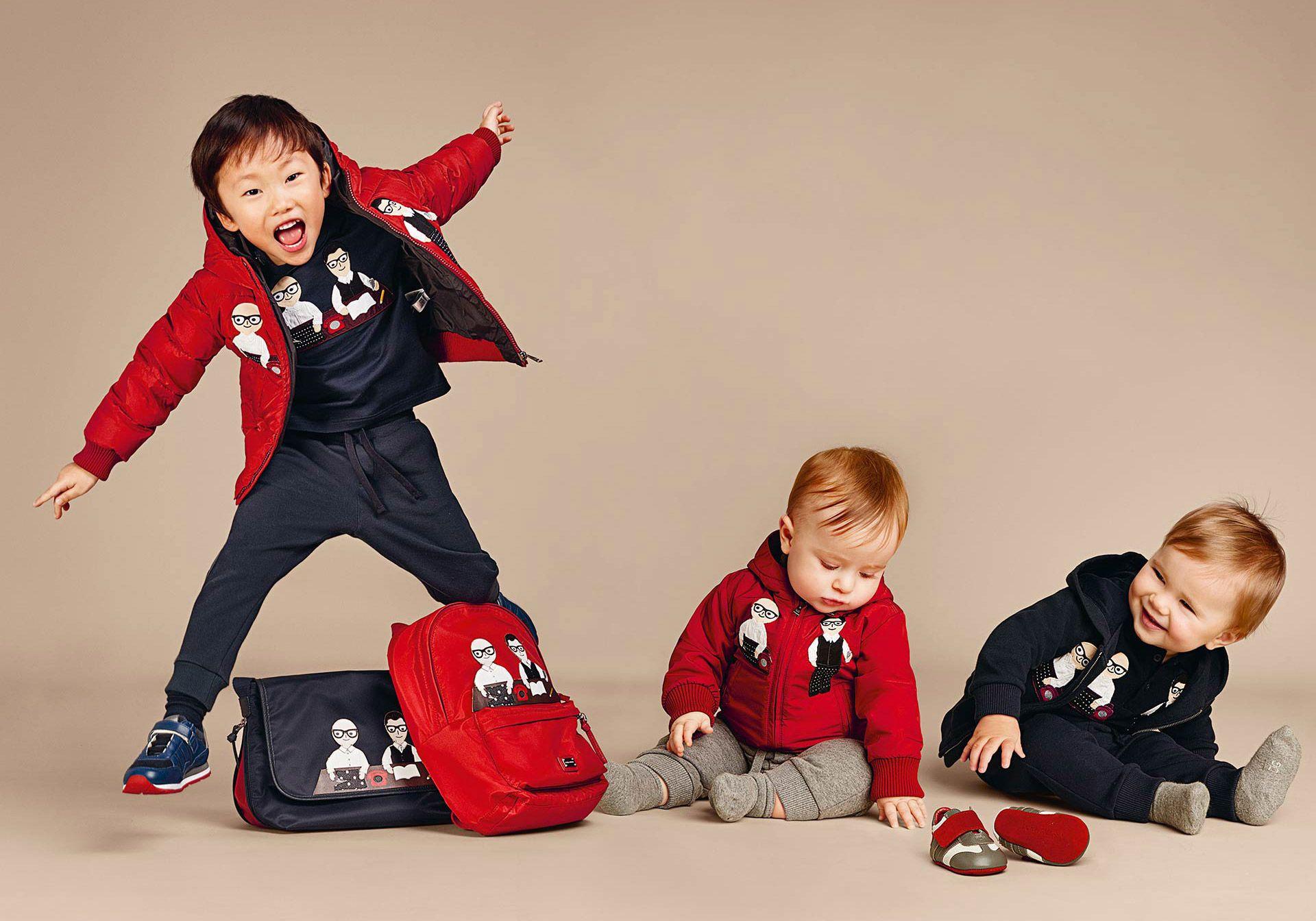 Dolce & Gabbana muchacho de los niños Colección Otoño Invierno 2016 2017 | Dolce Gabbana