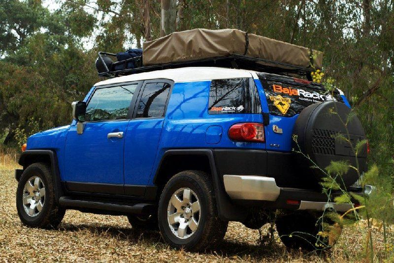 Baja Rack FJ Cruiser Expedition Rack for Roof Top Tents & Baja Rack FJ Cruiser Expedition Rack for Roof Top Tents | FJ ...