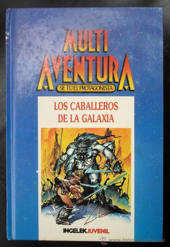 Multi Aventura: Los Caballeros de la Galaxia (ilustraciones de Azpiri)