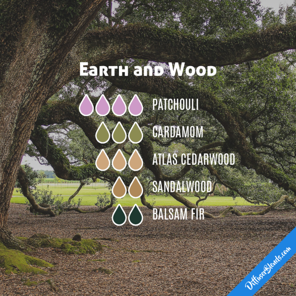 Earth And Wood Essential Oil Diffuser Blend Essential