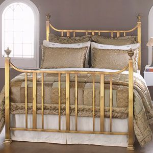 King Size Brass Bed Original Bedstead Co The Clifton Brass