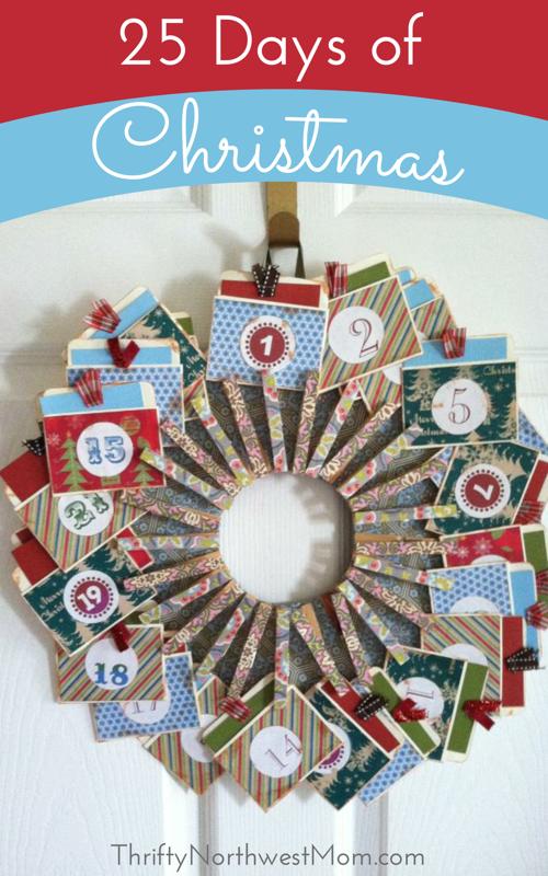 25 Days of Christmas Advent Calendar Ideas 25 days of