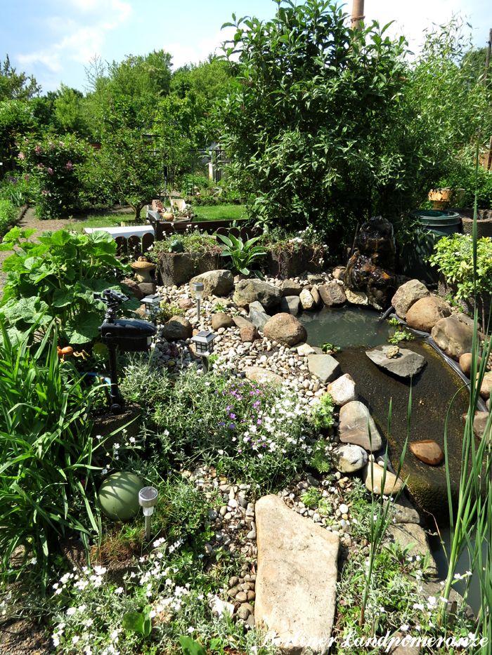 Steingarten Am Teich Stone Garden And Waterfall At The Garden Pond