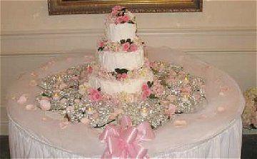 tulle wedding table decoration ideas