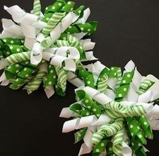 How to Make Secure Full Korker Hair Bows #hairbows