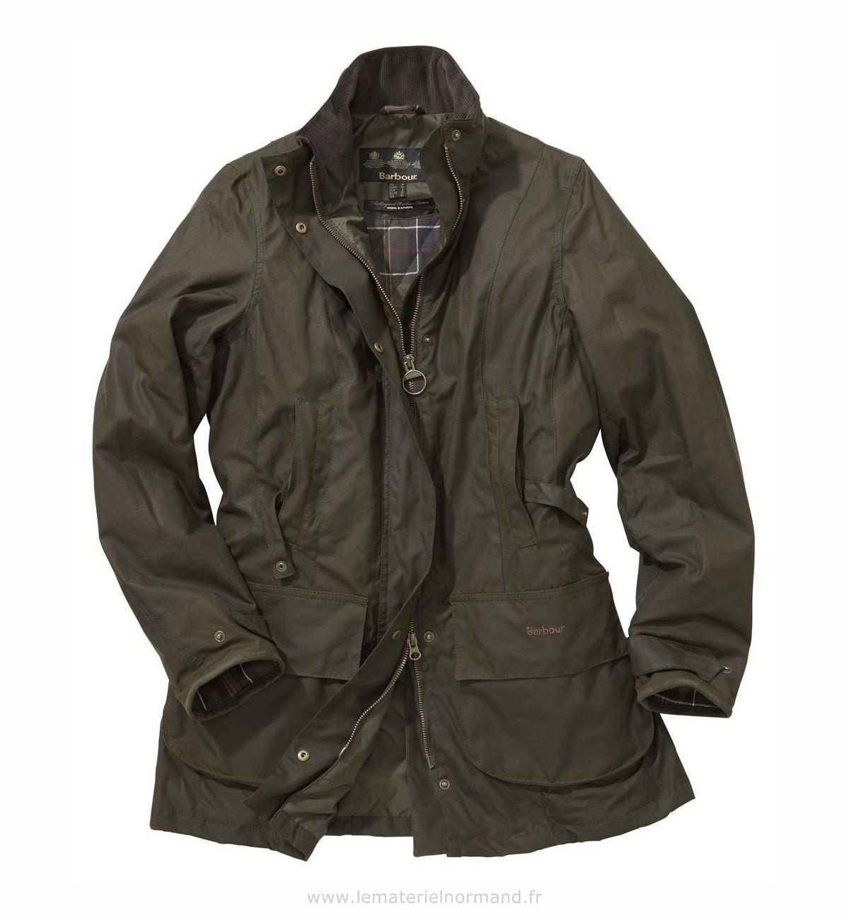 Collection veste barbour femme