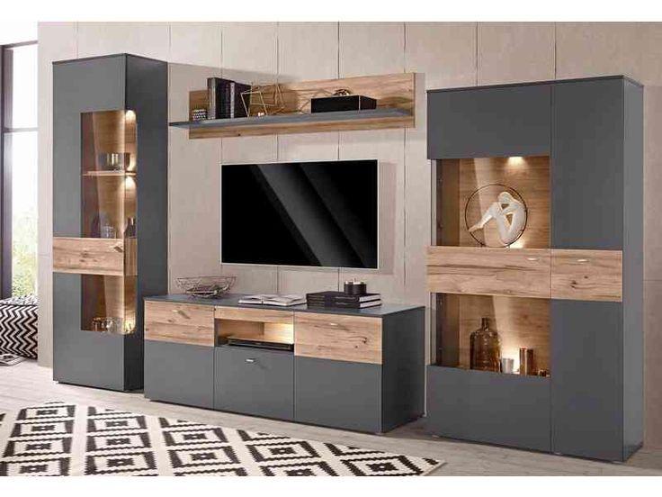 Forte Wohnwand Wohnwand Modern Wohnzimmerschranke Wohnen