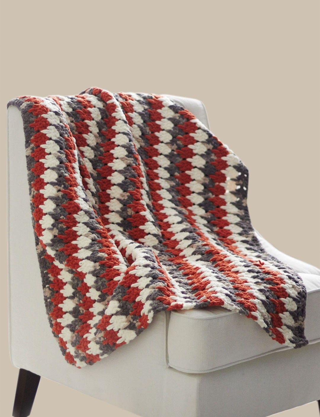 Yarnspirations bernatlarksfootblanket patterns free bankloansurffo Image collections