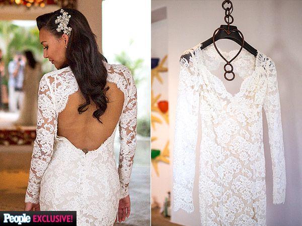 Naya Rivera S Wedding Dress And Rings Exclusive Photos And